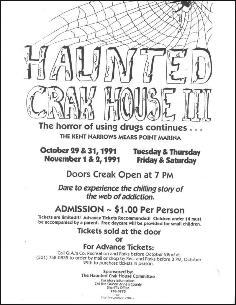 Haunted crack house project